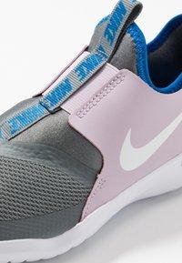 Nike Performance - FLEX RUNNER - Obuwie do biegania treningowe - iced lilac/white/smoke grey/soar - 2