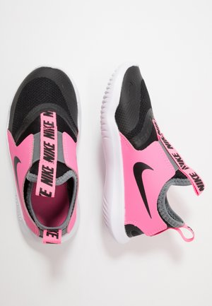 FLEX RUNNER - Obuwie do biegania treningowe - black/pink glow/smoke grey