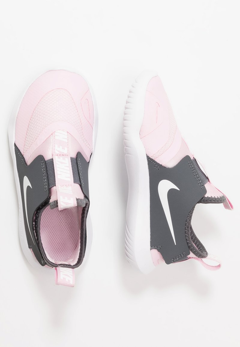 Nike Performance - FLEX RUNNER - Løpesko konkurranse - pink foam/white/dark grey