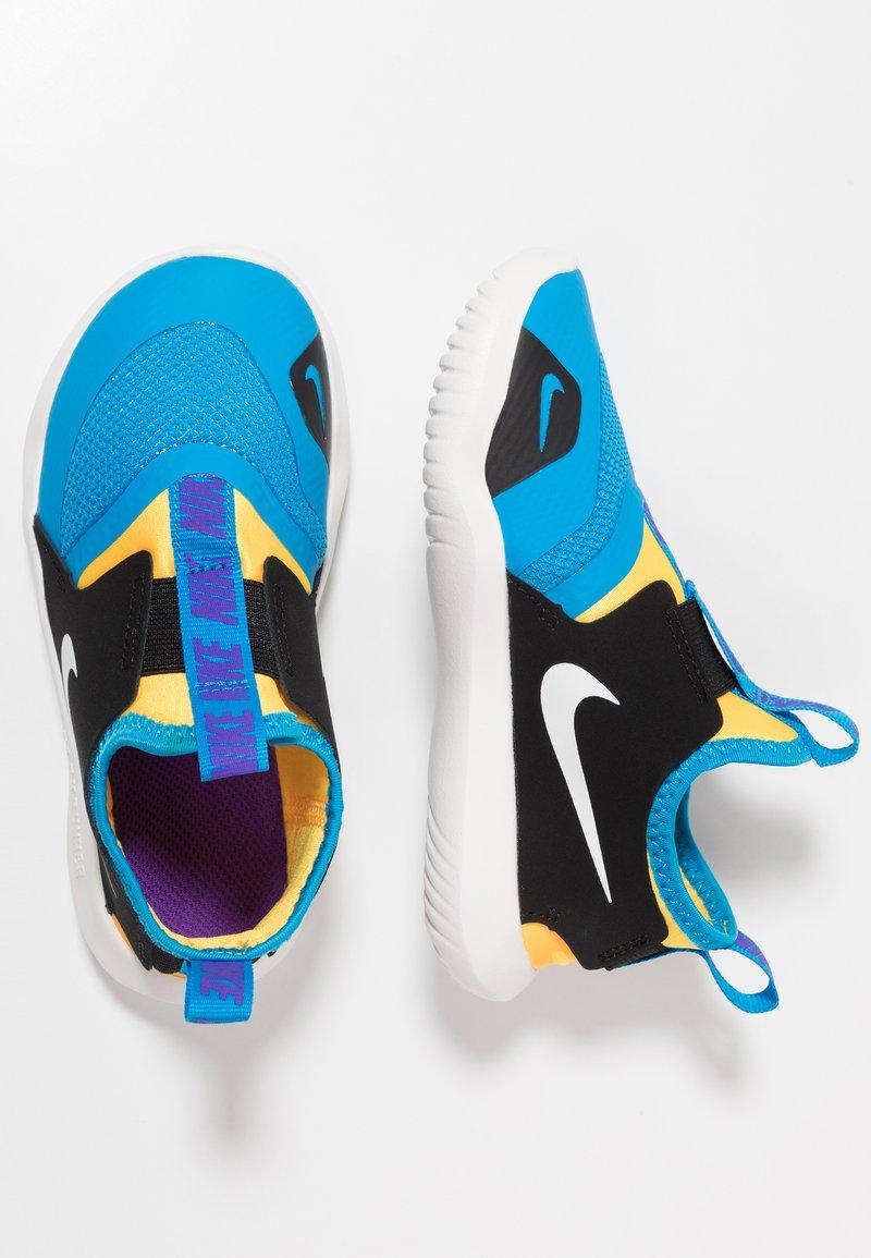 Nike Performance - FLEX RUNNER - Laufschuh Wettkampf - blue hero/summit white/laser orange