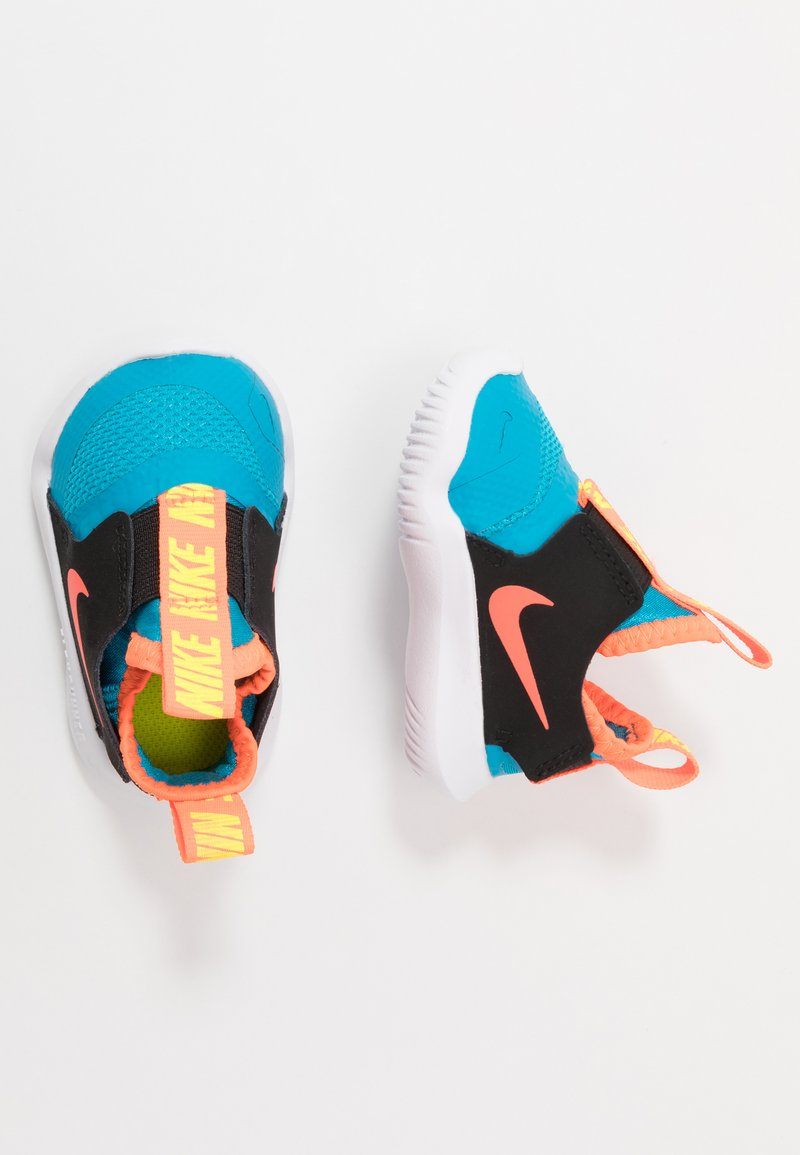 Nike Performance - FLEX RUNNER - Løpesko konkurranse - laser blue/hyper crimson/black/lemon