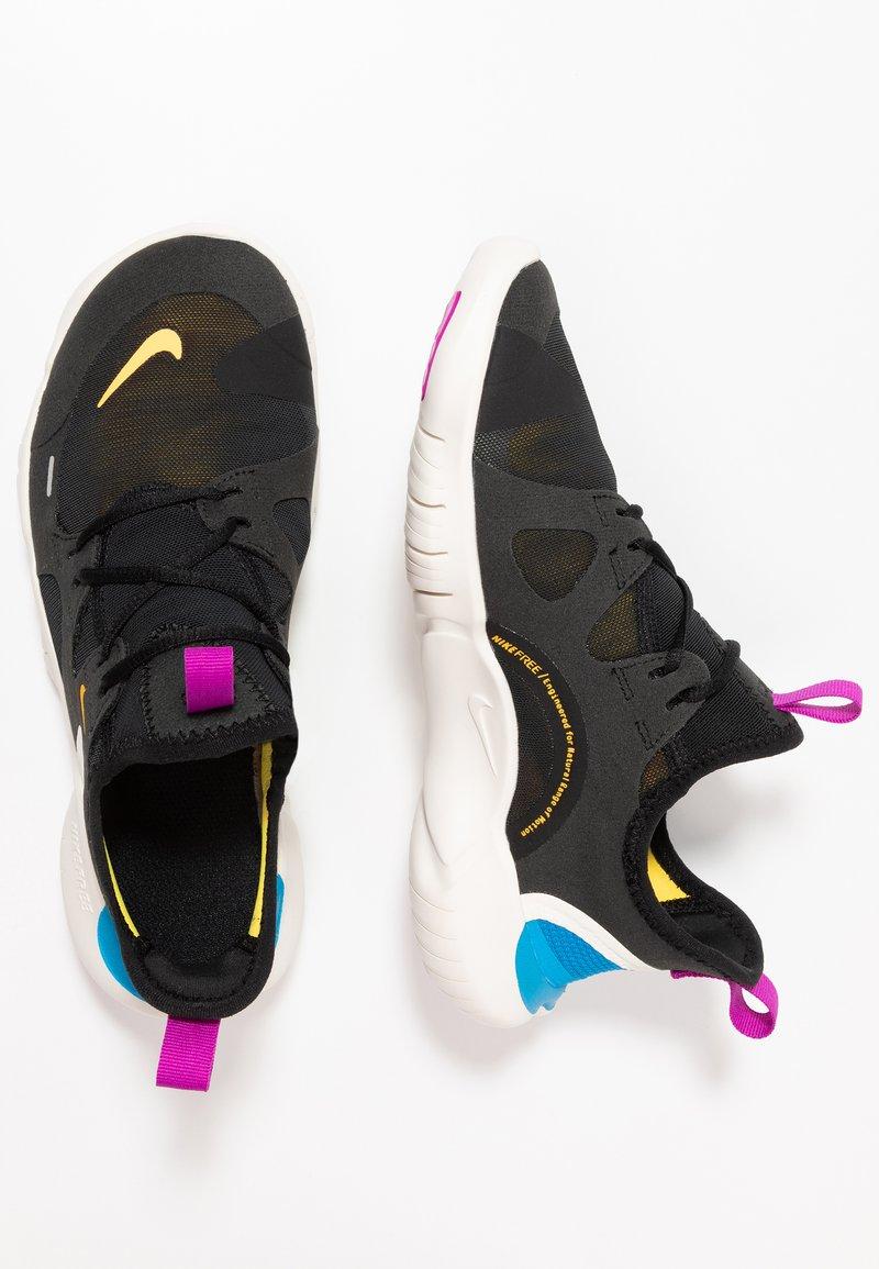 Nike Performance - FREE RN 5.0 - Chaussures de course neutres - black/laser orange/blue hero/hyper violet/summit white