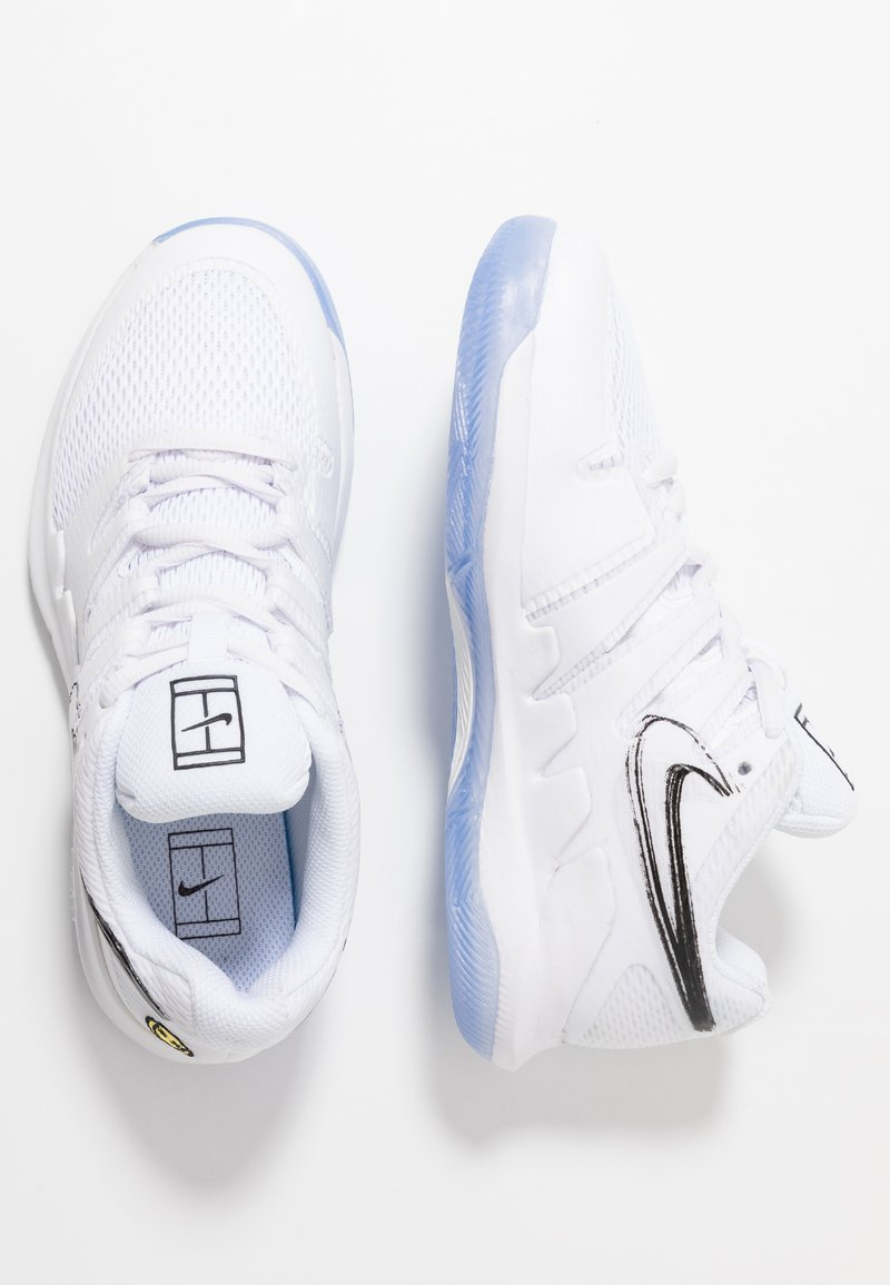 Nike Performance - VAPOR X - Tennisschoenen voor alle ondergronden - white/black/bright crimson