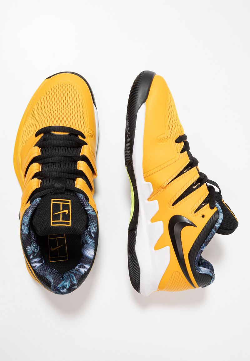 Nike Performance - VAPOR X - Zapatillas de tenis para todas las superficies - university gold/black/white/volt glow