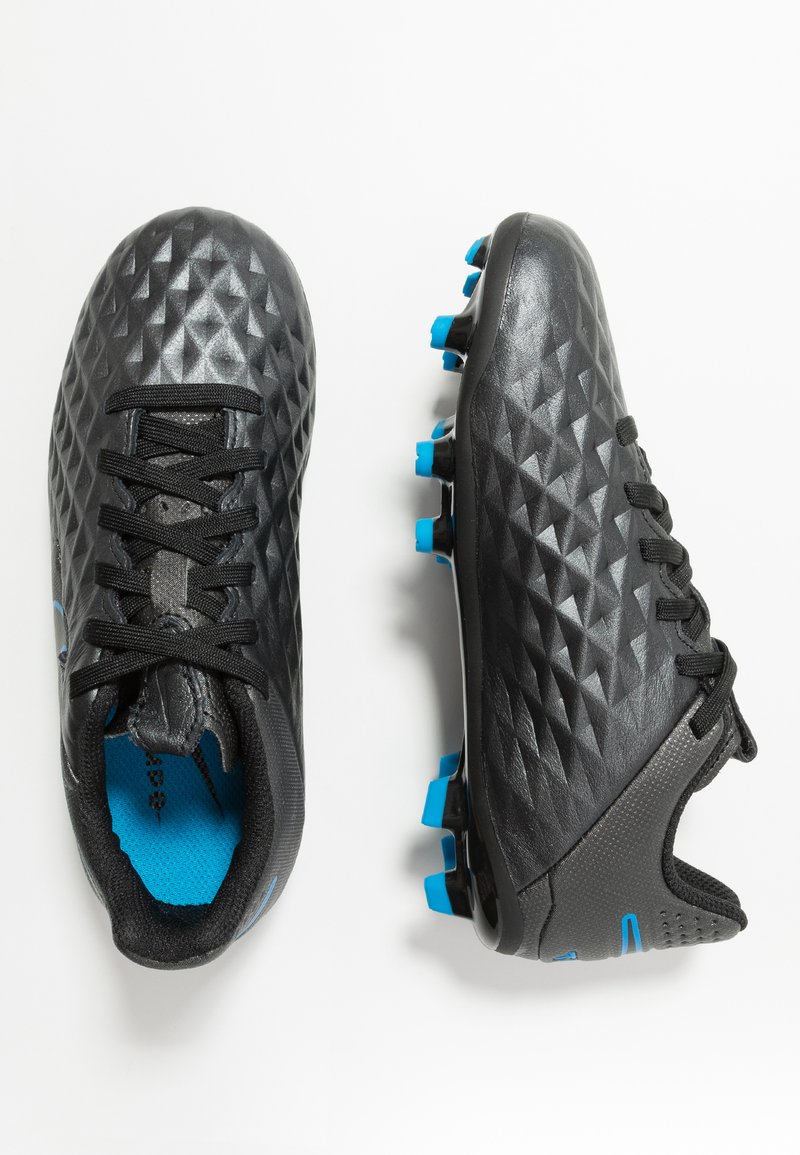 Nike Performance - LEGEND 8 ACADEMY FG/MG - Fußballschuh Nocken - black/blue hero