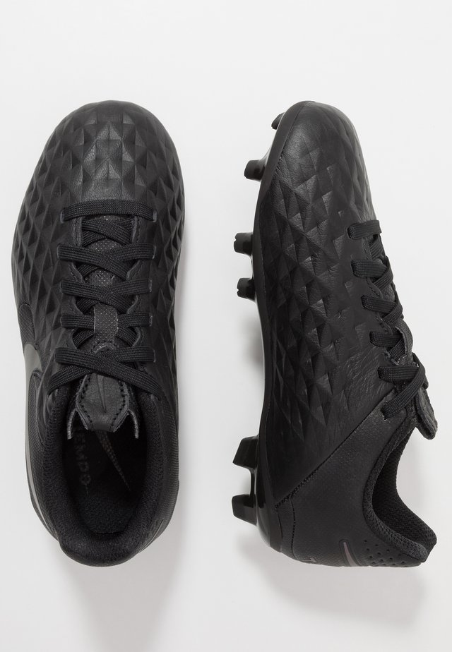 TIEMPO LEGEND 8 ACADEMY FG/MG - Moulded stud football boots - black