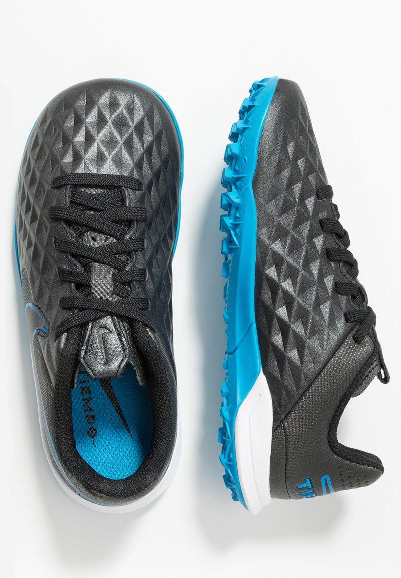 Nike Performance - LEGEND 8 ACADEMY TF - Fußballschuh Multinocken - black/blue hero