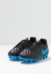 Nike Performance - TIEMPO LEGEND 8 CLUB FG/MG - Voetbalschoenen met kunststof noppen - black/blue hero - 3