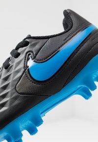 Nike Performance - TIEMPO LEGEND 8 CLUB FG/MG - Voetbalschoenen met kunststof noppen - black/blue hero - 2