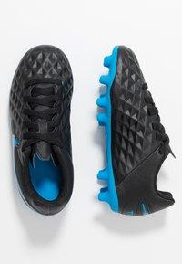 Nike Performance - TIEMPO LEGEND 8 CLUB FG/MG - Voetbalschoenen met kunststof noppen - black/blue hero - 0