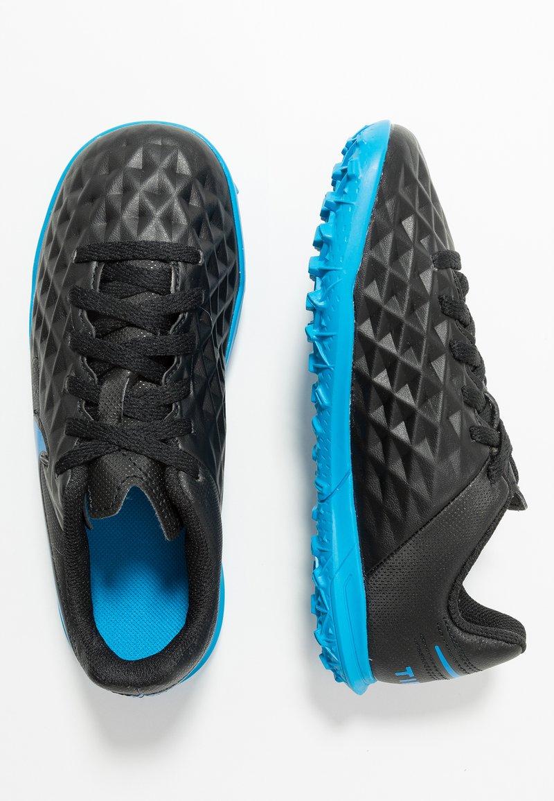Nike Performance - LEGEND 8 CLUB TF - Fußballschuh Multinocken - black/blue hero