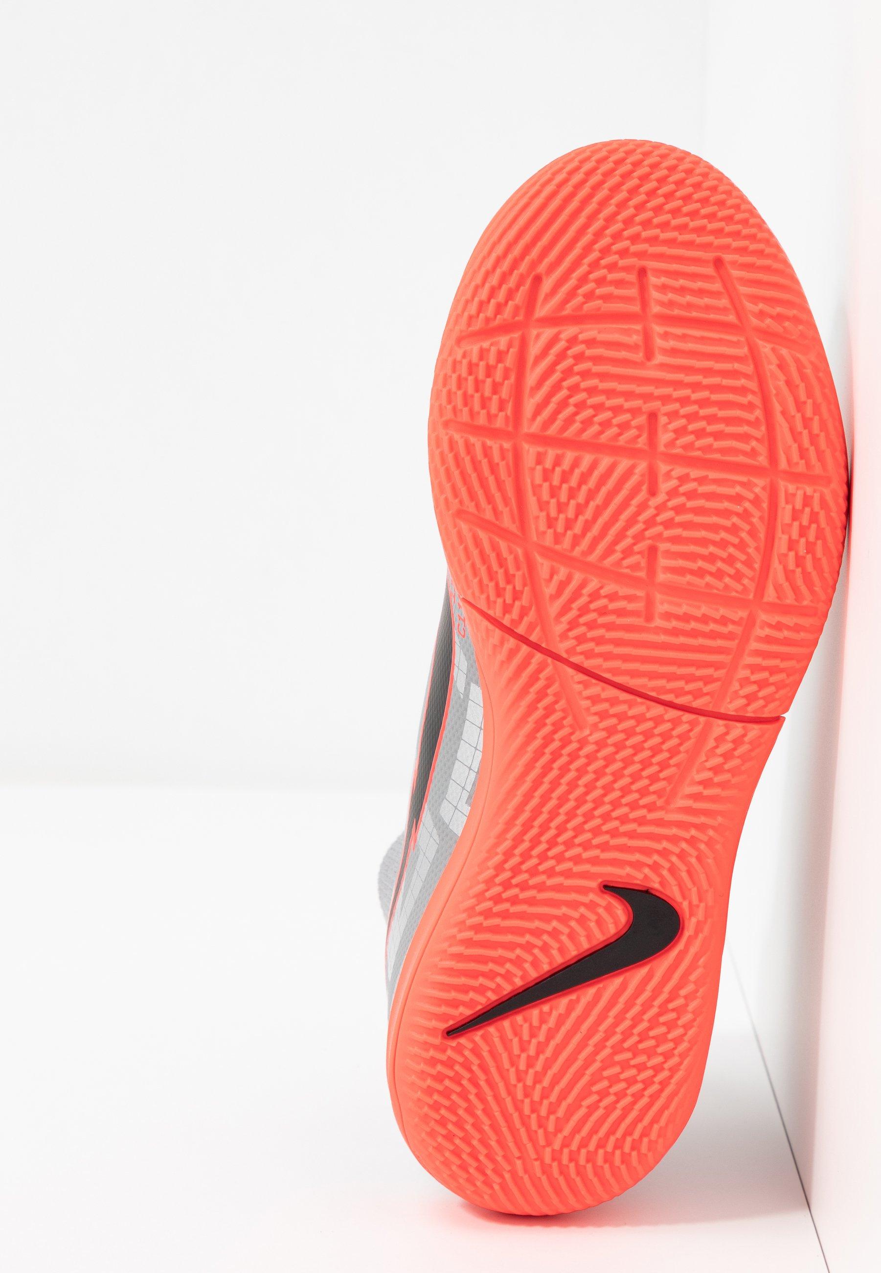 MERCURIAL 7 ACADEMY IC Chaussures de foot en salle metallic bomber greyblackparticle grey
