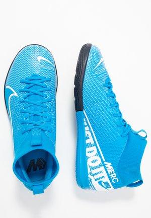 MERCURIAL 7 ACADEMY IC - Chaussures de foot en salle - blue hero/white/obsidian
