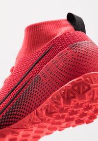Nike Performance - MERCURIAL 7 ACADEMY TF - Voetbalschoenen voor kunstgras - laser crimson/black/laser crimson - 2