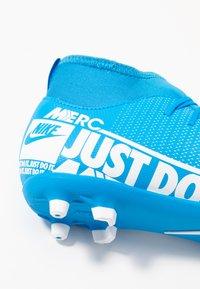 Nike Performance - MERCURIAL 7 CLUB FG/MG - Voetbalschoenen met kunststof noppen - blue hero/white/obsidian - 2