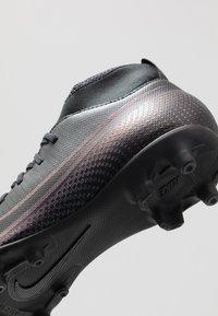Nike Performance - MERCURIAL 7 CLUB FG/MG - Voetbalschoenen met kunststof noppen - black - 2