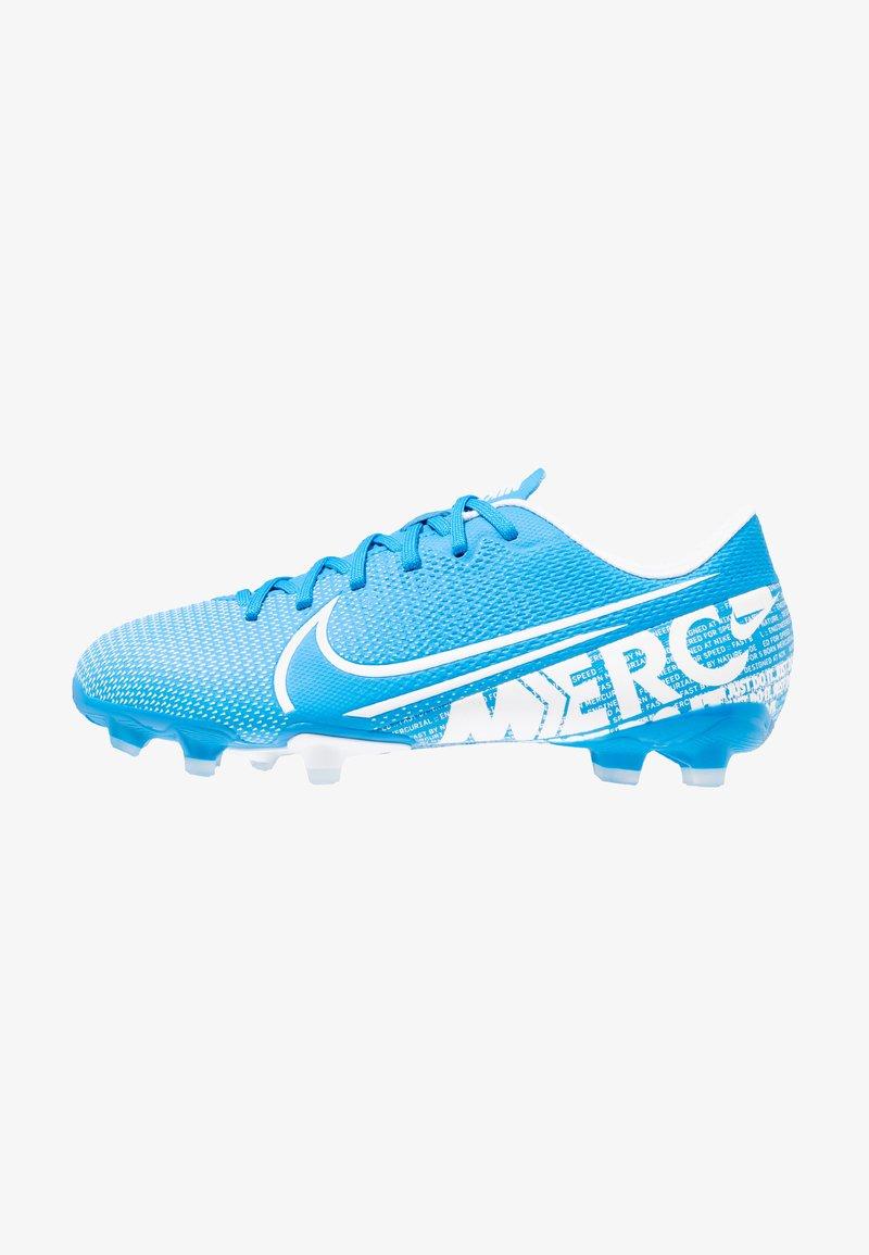 Nike Performance - VAPOR 13 ACADEMY FG/MG - Botas de fútbol con tacos - blue hero/white/obsidian