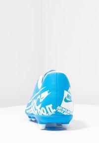 Nike Performance - JR VAPOR 13 CLUB FG/MG - Voetbalschoenen met kunststof noppen - blue hero/white/obsidian - 4