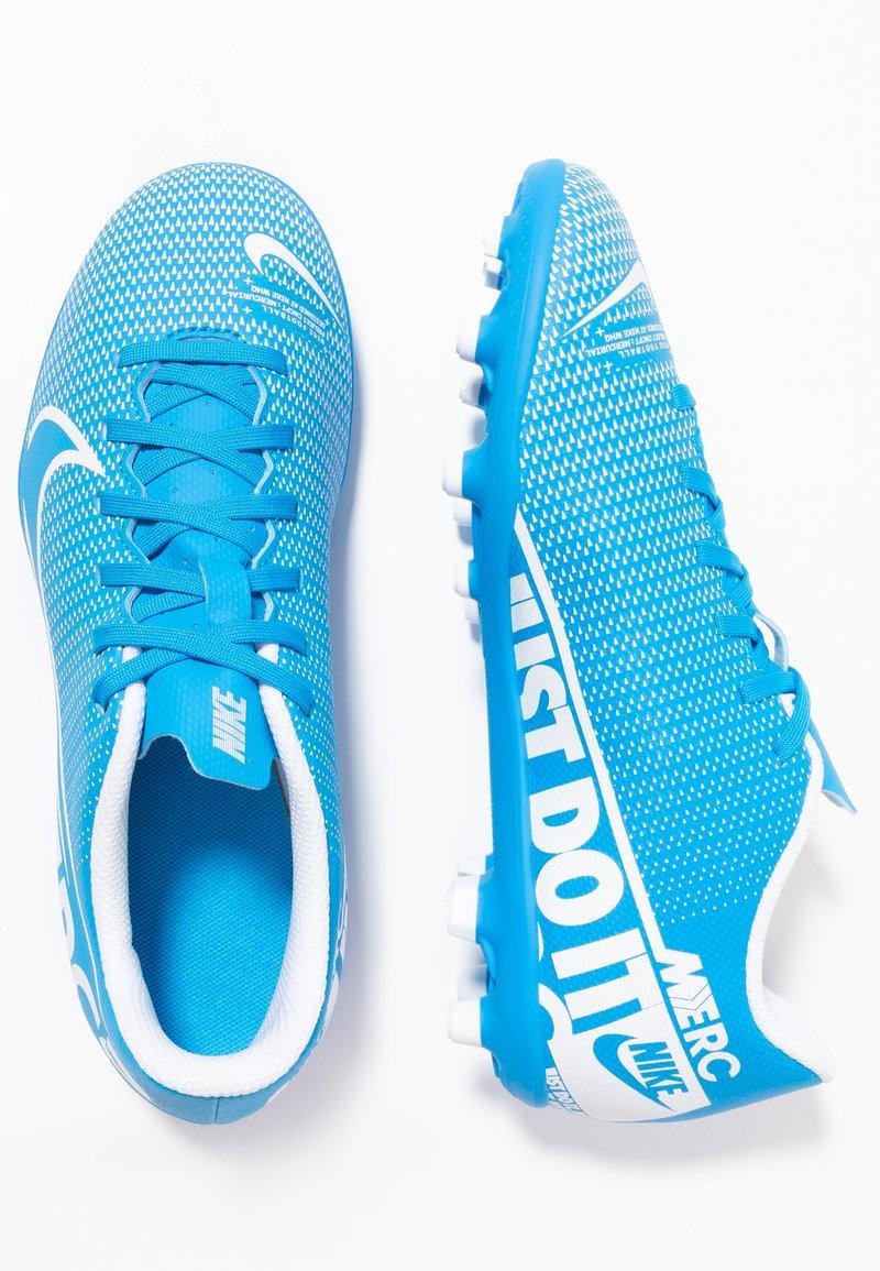 Nike Performance - JR VAPOR 13 CLUB FG/MG - Korki Lanki - blue hero/white/obsidian