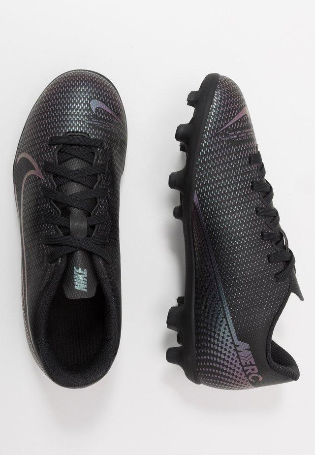 MERCURIAL JR VAPOR 13 CLUB FG/MG UNISEX - Voetbalschoenen met kunststof noppen - black