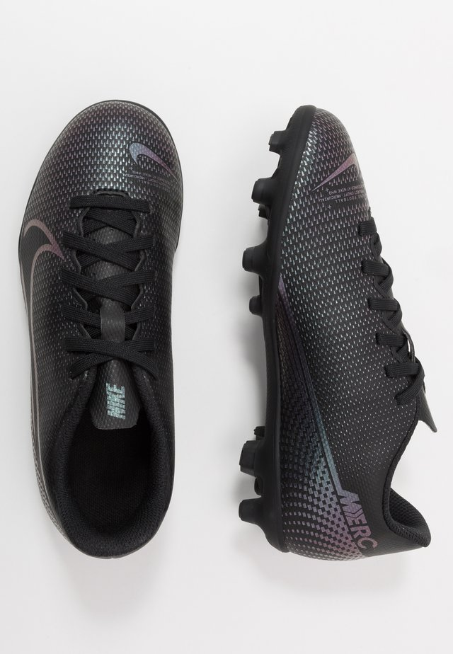 JR VAPOR 13 CLUB FG/MG - Fotbollsskor fasta dobbar - black
