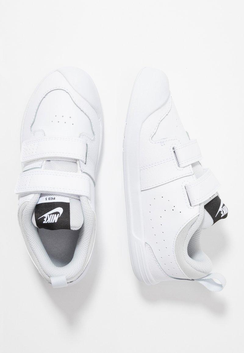 Nike Performance - PICO 5  - Kuntoilukengät - white/pure platinum