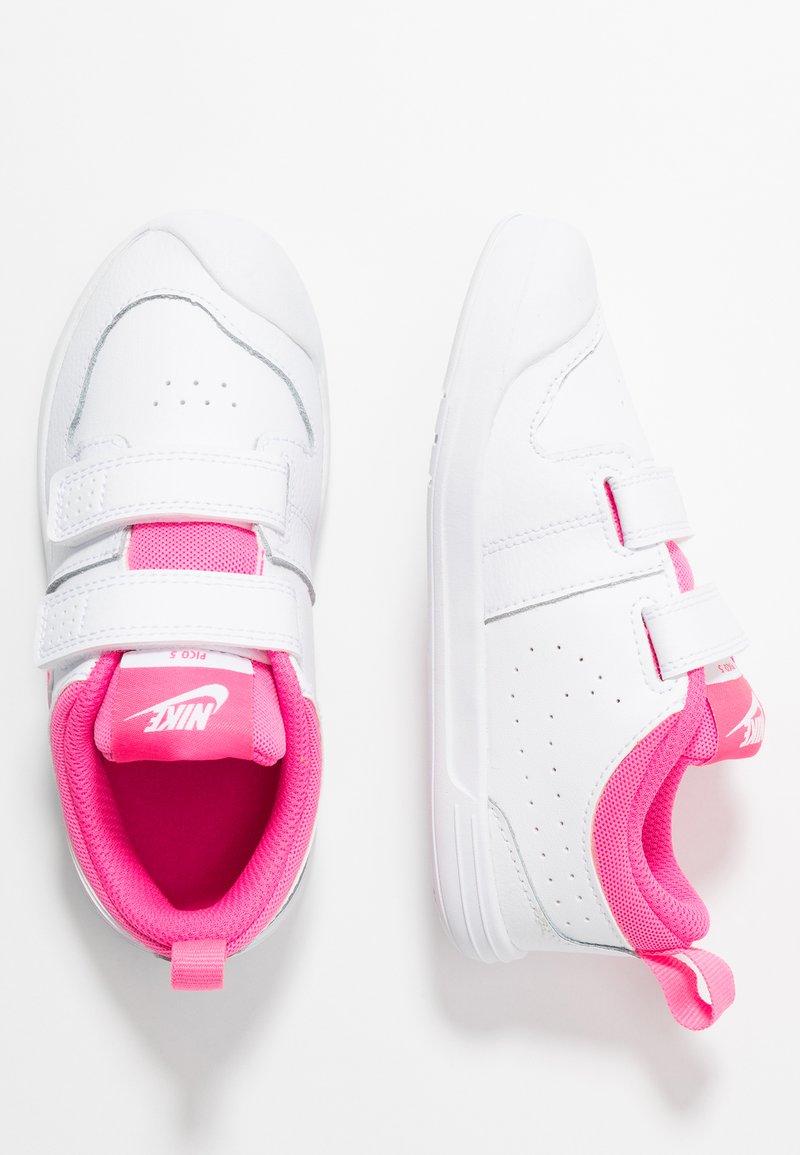 Nike Performance - PICO 5  - Zapatillas de entrenamiento - white/pink blast