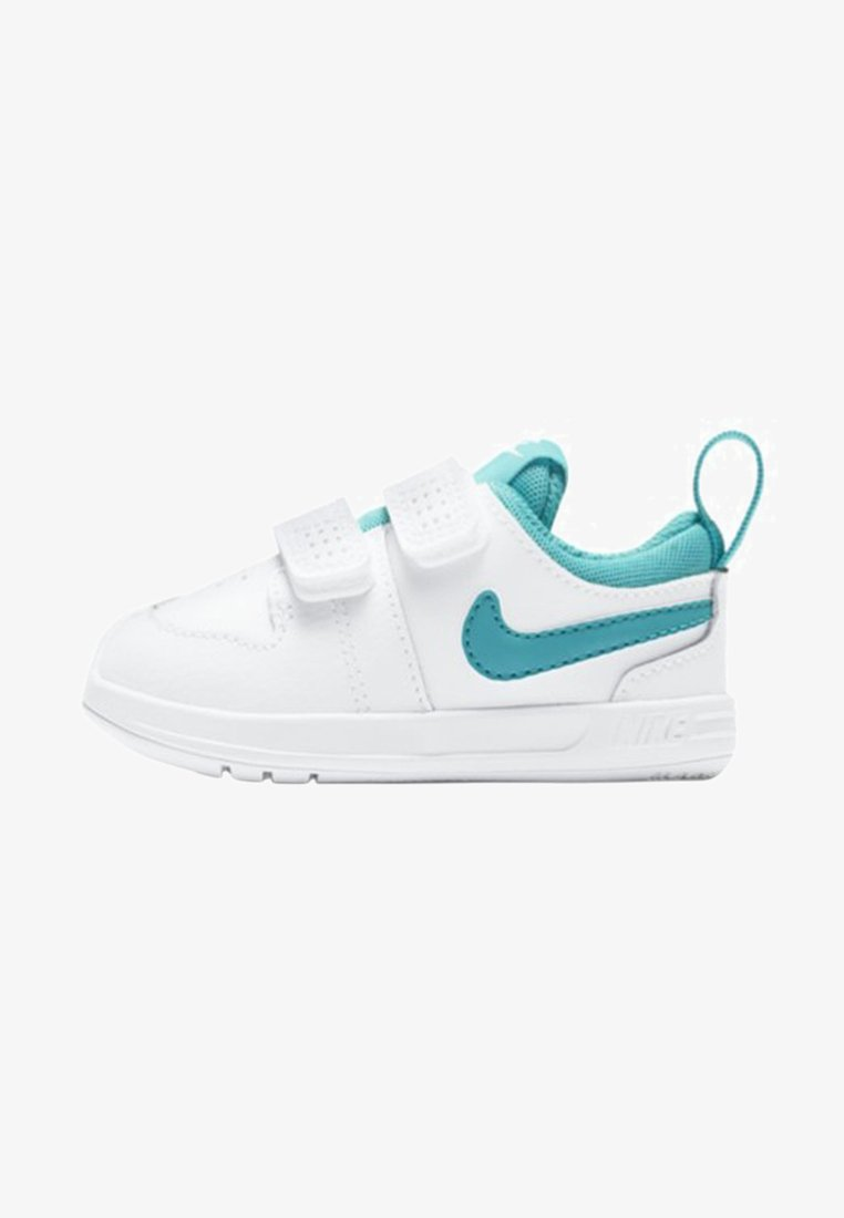 Nike Performance - PICO 5 - Sports shoes - white/teal