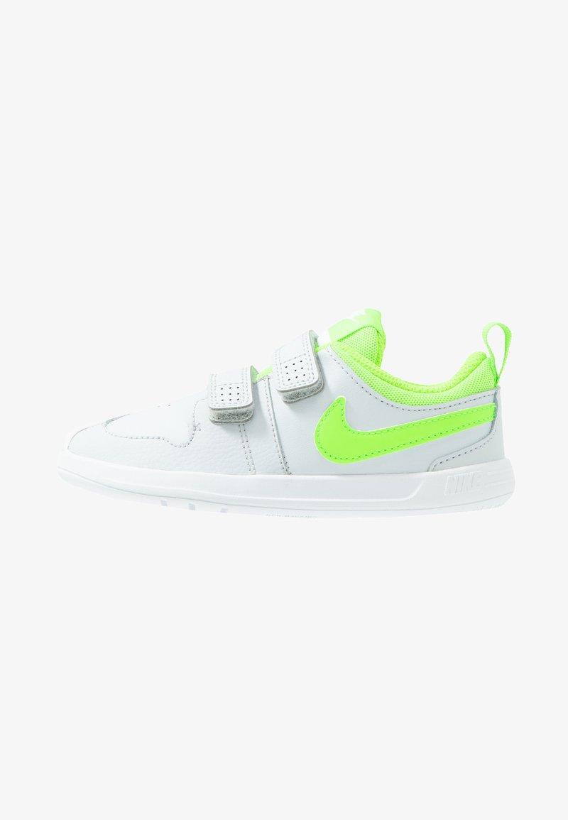 Nike Performance - PICO 5 TDV - Sneakersy niskie - pure platinum/electric green/white