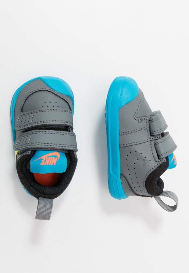 PICO 5  - Gym- & träningskor - smoke grey/lemon/laser blue/hyper crimson