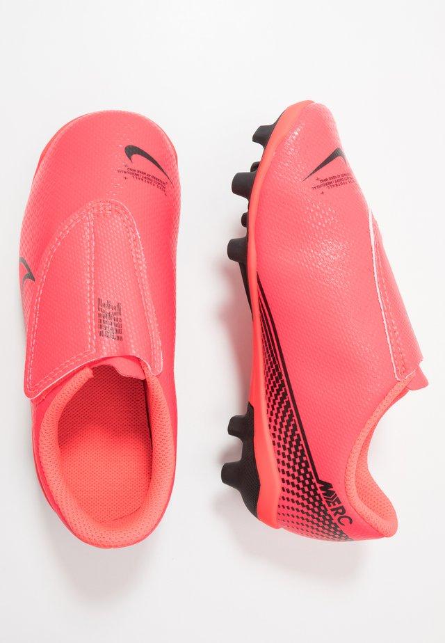 VAPOR 13 CLUB MG  - Moulded stud football boots - laser crimson/black