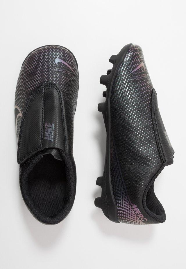 VAPOR 13 CLUB MG  - Moulded stud football boots - black
