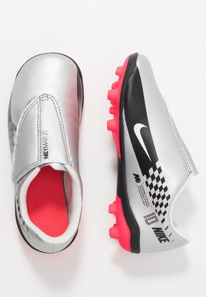 VAPOR 13 CLUB NEYMAR MG - Voetbalschoenen met kunststof noppen - chrome/black/red orbit/platinum tint/white