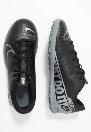MERCURIAL VAPOR 13 CLUB TF - Korki Turfy - black/metallic cool grey/cool grey