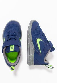 Nike Performance - DOWNSHIFTER 9 RW TDV - Scarpe running neutre - blue void/electric green/gunsmoke - 0