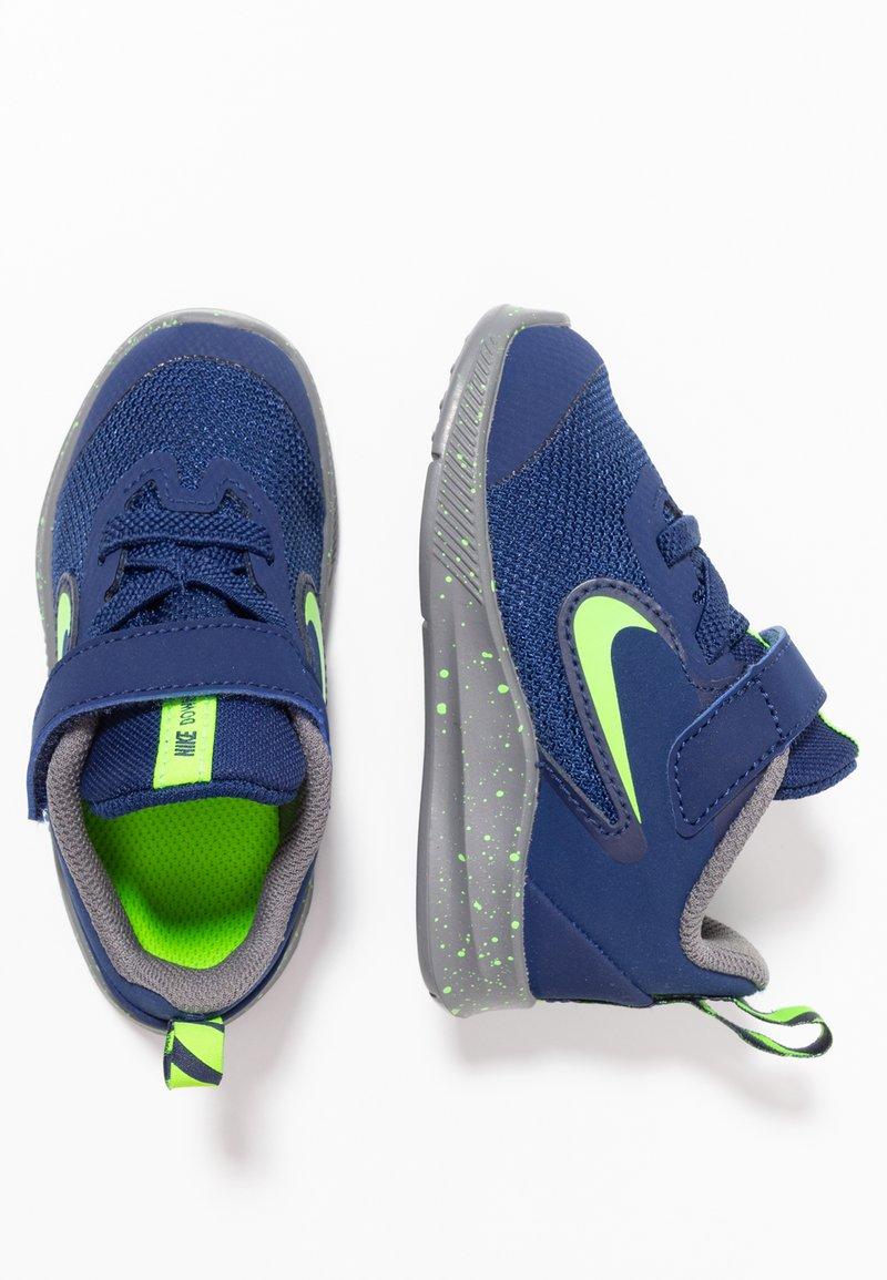 Nike Performance - DOWNSHIFTER 9 RW TDV - Juoksukenkä/neutraalit - blue void/electric green/gunsmoke