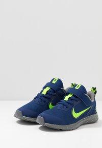 Nike Performance - DOWNSHIFTER 9 - Scarpe running neutre - blue void/electric green/gunsmoke - 3