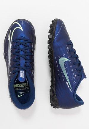 MERCURIAL VAPOR 13 ACADEMY MDS TF - Voetbalschoenen voor kunstgras - blue void/metallic silver/white/black