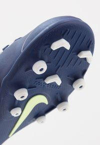 Nike Performance - MERCURIAL VAPOR 13 CLUB FG/MG - Botas de fútbol con tacos - blue void/metallic silver - 2