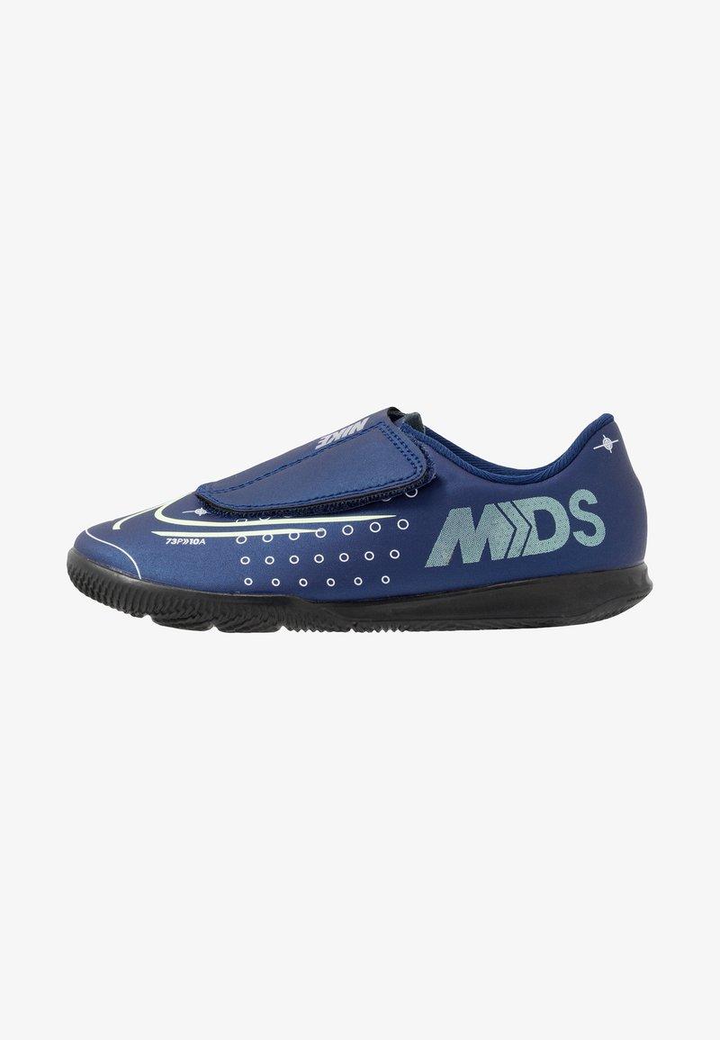 Nike Performance - MERCURIAL VAPOR 13 CLUB IC - Chaussures de foot en salle - blue void/metallic silver/white/black