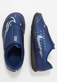 Nike Performance - MERCURIAL VAPOR 13 CLUB IC - Chaussures de foot en salle - blue void/metallic silver/white/black - 1
