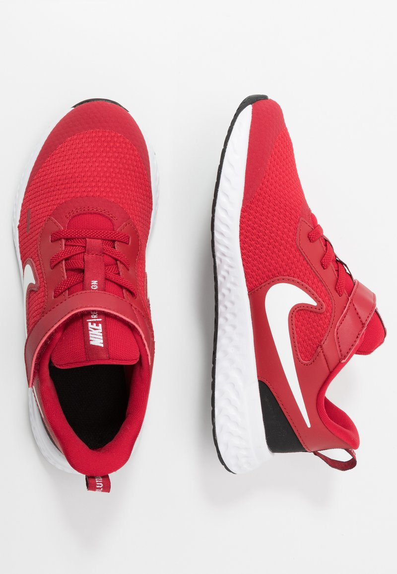 Nike Performance - REVOLUTION 5 - Scarpe running neutre - gym red/white/black