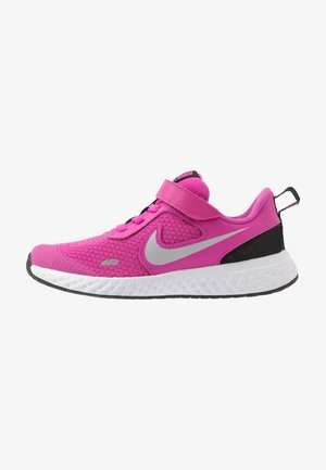 REVOLUTION 5 - Zapatillas de running neutras - active fuchsia/metallic silver/black