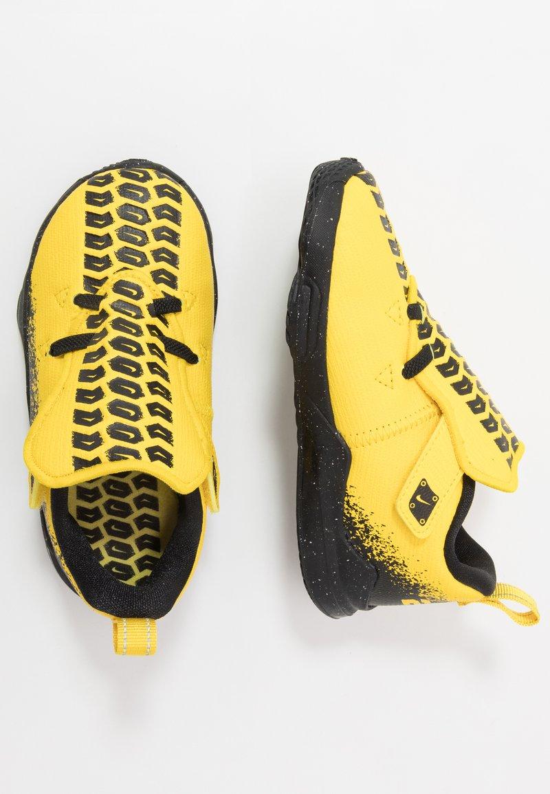 Nike Performance - LEBRON XVII AUTO - Basketbalschoenen - chrome yellow/black