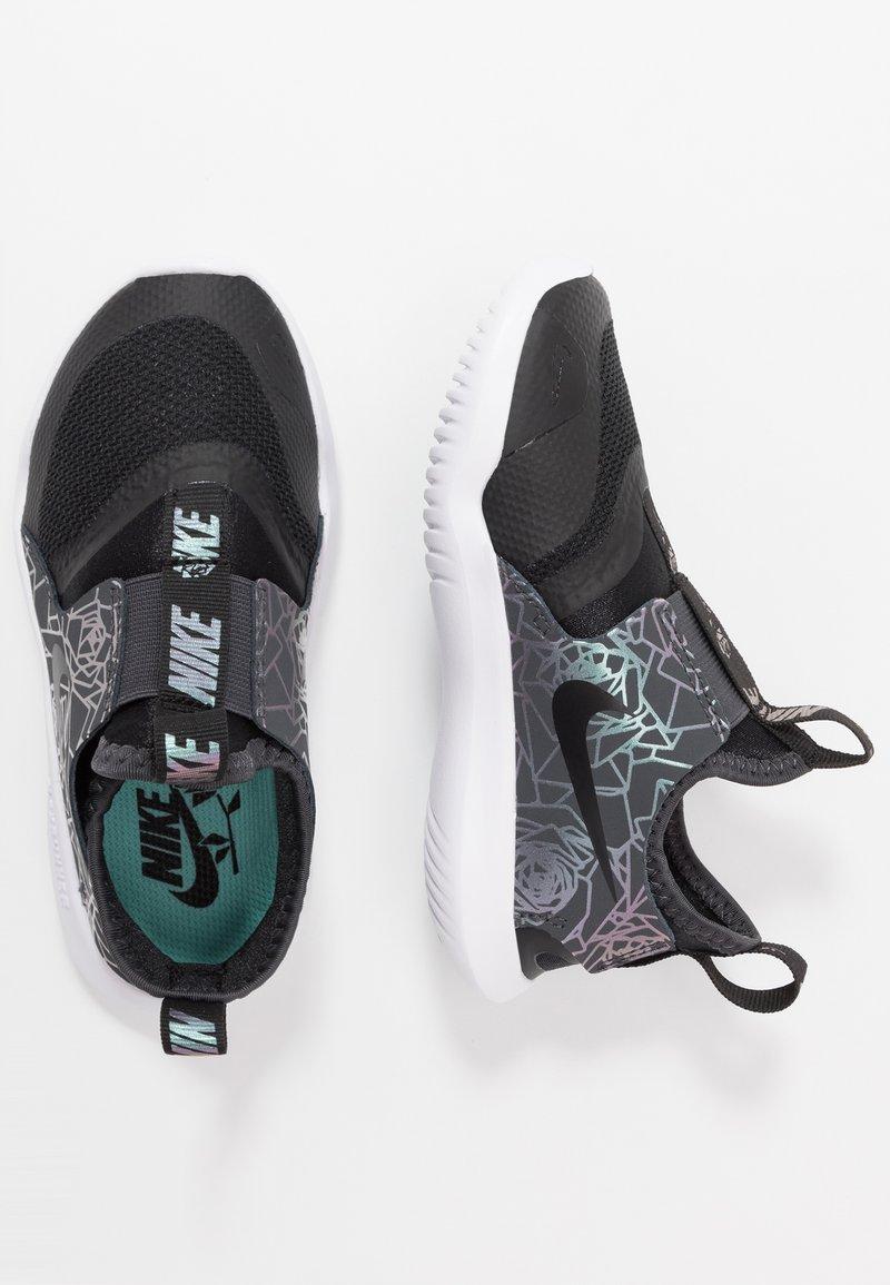 Nike Performance - FLEX RUNNER REBEL - Nøytrale løpesko - black/anthracite/light aqua
