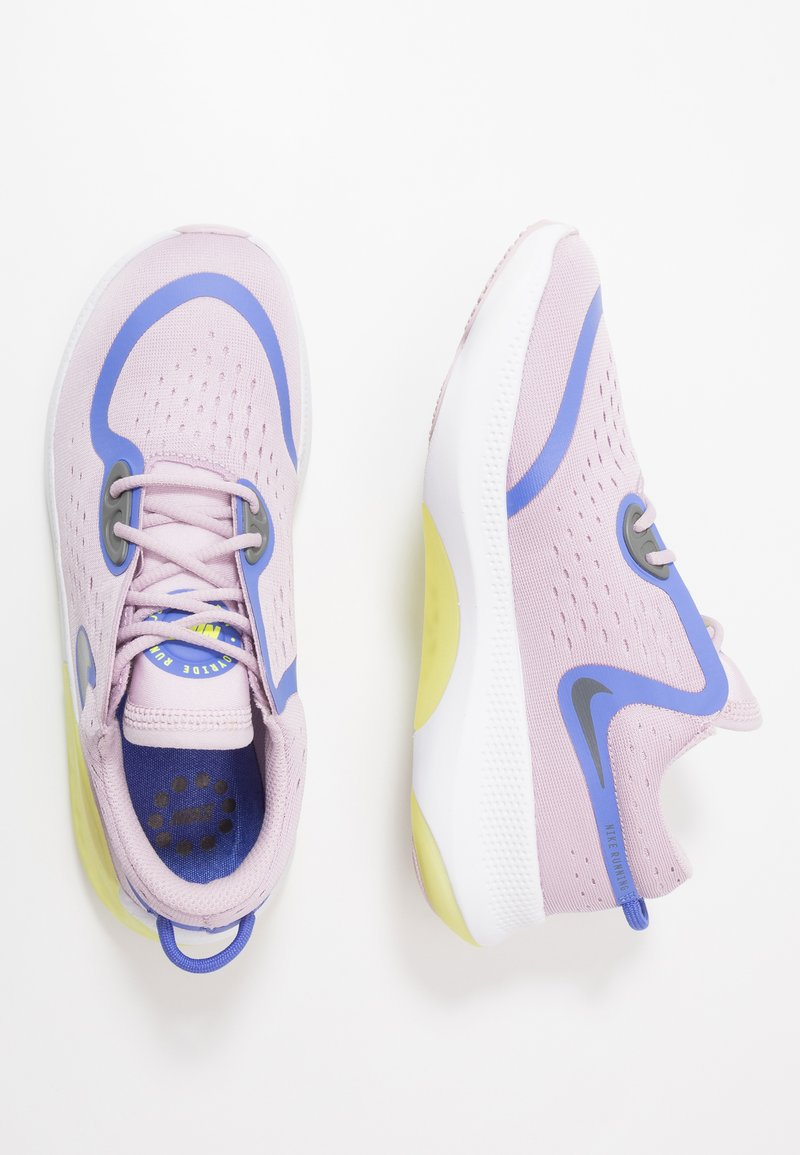 Nike Performance - JOYRIDE DUAL RUN - Obuwie do biegania treningowe - iced lilac/sapphire/smoke grey/dynamic yellow/white