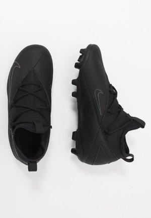 JR PHANTOM VISION CLUB FG/MG - Voetbalschoenen met kunststof noppen - black