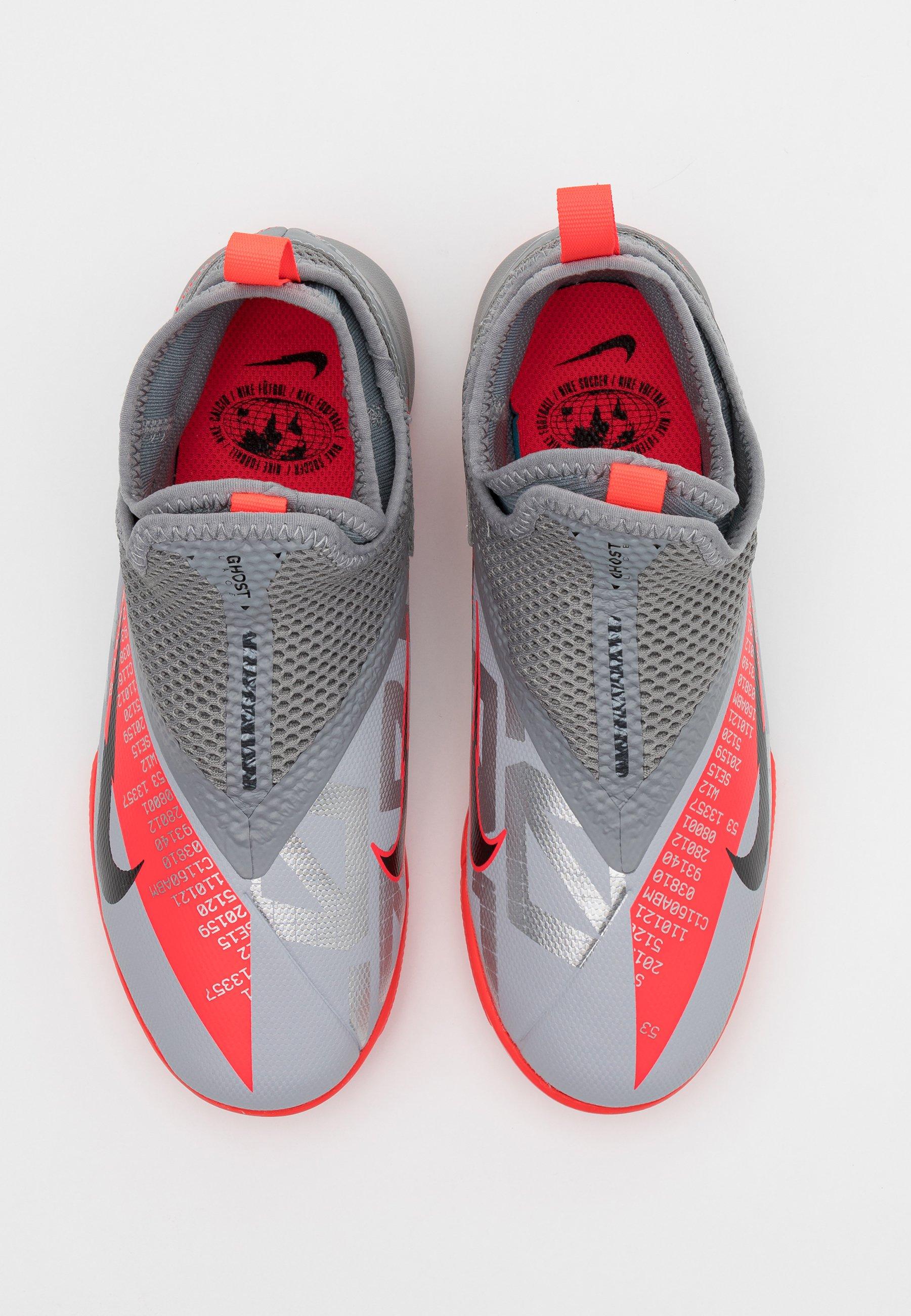 PHANTOM VISION 2 ACADEMY DF IC Chaussures de foot en salle metallic bomber greyblackparticle grey