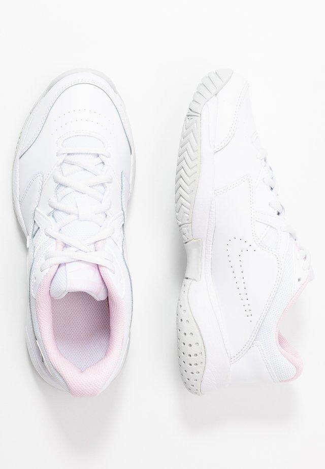 COURT LITE 2 - Buty tenisowe uniwersalne - white/photon dust/pink