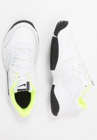 Nike Performance - COURT LITE 2 - Multicourt tennis shoes - white/black/volt - 0